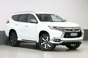 2017 Mitsubishi Pajero Sport MY16 GLS (4x4) 7 Seat White 8 Speed Automatic Wagon Bentley Canning Area Preview