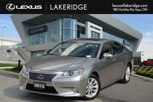 2015 Lexus ES 300h Touring, No Accidents, Navigation, Leather, R