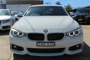 2014 BMW 428i F32 MY14 Sport Line White 8 Speed Automatic Coupe Five Dock Canada Bay Area Preview