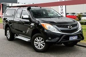 2012 Mazda BT-50 UP0YF1 XTR Freestyle Black 6 Speed Manual Utility East Rockingham Rockingham Area Preview