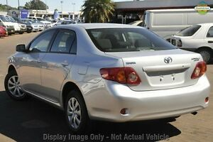 2009 Toyota Corolla ZRE152R Ascent Silver 4 Speed Automatic Sedan Westminster Stirling Area Preview