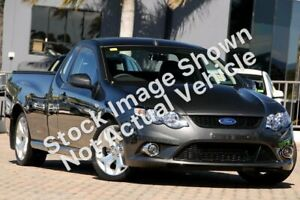 2010 Ford Falcon FG XR8 Silver 6 Speed Manual Utility Homebush Strathfield Area Preview