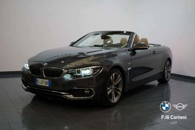 BMW 430 i Cabrio Luxury *FULL LED+AUTOMATICA+PDC ANT POST*