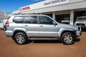 2007 Toyota Landcruiser Prado GRJ120R GXL Silver 5 Speed Automatic Wagon Westminster Stirling Area Preview