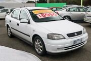 2003 Holden Astra TS MY03 Equipe City White 4 Speed Automatic Sedan Ringwood East Maroondah Area Preview