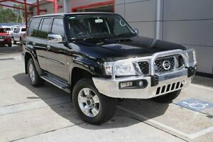 2012 Nissan Patrol Y61 GU 8 ST Black 4 Speed Automatic Wagon Buderim Maroochydore Area Preview