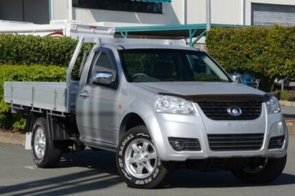 2012 Great Wall V200 K2 MY12 (4x4) Silver 6 Speed Manual Cab Chassis Acacia Ridge Brisbane South West Preview