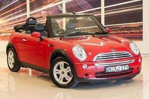 2005 Mini Cabrio R52 MY05 Cooper Red 5 Speed Manual Convertible Blacktown Blacktown Area Preview