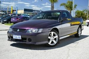 2004 Holden Commodore Ute Storm Purple 4 Speed Automatic Utility East Rockingham Rockingham Area Preview