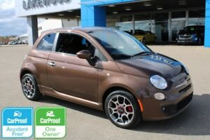 2012 FIAT 500 Sport Manual (Accident Free, One Owner)