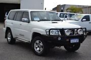 2011 Nissan Patrol GU 7 MY10 ST White 5 Speed Manual Wagon Pearsall Wanneroo Area Preview