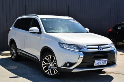 2017 Mitsubishi Outlander ZK MY17 LS 4WD White 6 Speed Constant Variable Wagon Midvale Mundaring Area Preview