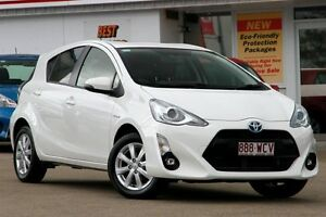 2015 Toyota Prius c NHP10R i-Tech E-CVT Glacier 1 Speed Constant Variable Hatchback Woolloongabba Brisbane South West Preview