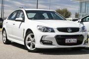 2015 Holden Commodore VF MY15 SV6 White 6 Speed Sports Automatic Sedan East Rockingham Rockingham Area Preview