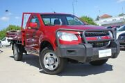 2014 Holden Colorado RG MY14 LX Burgundy 6 Speed Manual Cab Chassis Victoria Park Victoria Park Area Preview