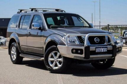 2012 Nissan Pathfinder R51 Series 4 ST-L (4x4) Grey 5 Speed Automatic Wagon
