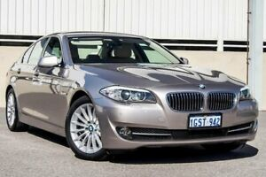 2010 BMW 520d STEPTRONIC F10 Silver Sports Automatic Sedan Cannington Canning Area Preview