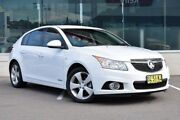 2014 Holden Cruze JH Series II MY14 Equipe White 6 Speed Sports Automatic Hatchback Cardiff Lake Macquarie Area Preview