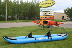 Attention RV Owners... Inflatable Tandem Kayak!