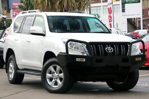 2013 Toyota Landcruiser Prado KDJ150R MY14 GXL (4x4) White 5 Speed Sequential Auto Wagon Dee Why Manly Area Preview