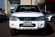 2011 Nissan Navara D22 S5 ST-R White 5 Speed Manual Utility Seaford Frankston Area Preview