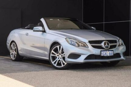 2013 Mercedes-Benz E250 A207 MY13 7G-Tronic + Silver 7 Speed Sports Automatic Cabriolet Wangara Wanneroo Area Preview