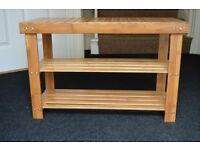 Shoe rack bench storage Organiser