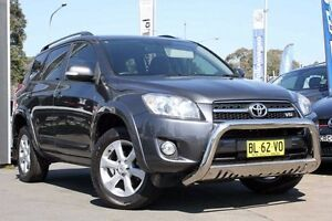 2011 Toyota RAV4 GSA33R MY11 SX6 Grey 5 Speed Automatic Wagon Liverpool Liverpool Area Preview