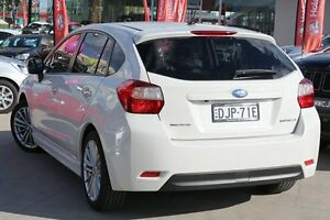 2016 Subaru Impreza MY16 2.0I-S (AWD) White Continuous Variable Hatchback Waitara Hornsby Area Preview