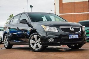 2013 Holden Cruze JH Series II MY14 Equipe Black 6 Speed Sports Automatic Hatchback Fremantle Fremantle Area Preview