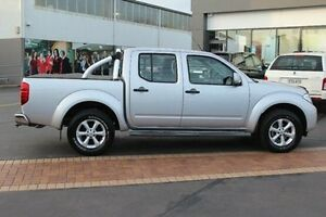 2012 Nissan Navara D40 MY12 ST (4x4) Silver 6 Speed Manual Dual Cab Pick-up South Maitland Maitland Area Preview