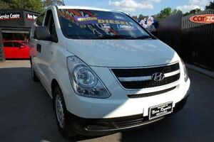 2011 Hyundai iLOAD TQ MY11 Crew White 5 Speed Automatic Van Upper Ferntree Gully Knox Area Preview