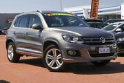 2015 Volkswagen Tiguan 5N MY15 155TSI DSG 4MOTION R-Line Grey 7 Speed Sports Automatic Dual Clutch Osborne Park Stirling Area Preview