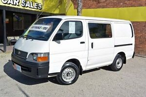 2004 Toyota Hiace RZH103R White 5 Speed Manual Van Upper Ferntree Gully Knox Area Preview