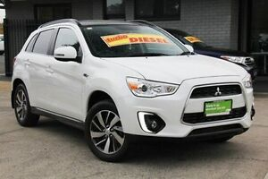 2014 Mitsubishi ASX XB MY15 XLS White 6 Speed Sports Automatic Wagon Hillcrest Port Adelaide Area Preview