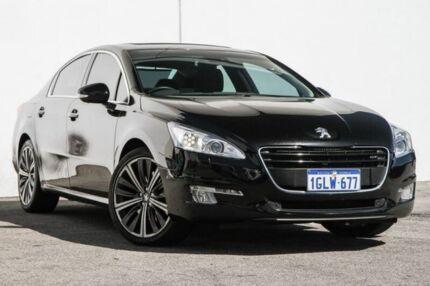 2012 Peugeot 508 GT Luxury HDI Black 6 Speed Sports Automatic Sedan Bellevue Swan Area Preview