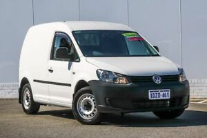 2012 Volkswagen Caddy 2KN MY12 TDI250 SWB DSG SE White 7 Speed Sports Automatic Dual Clutch Van