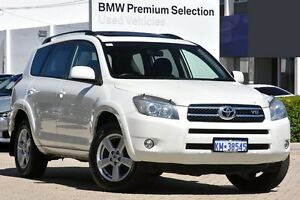 2008 Toyota RAV4 GSA33R MY08 SX6 White 5 Speed Automatic Wagon Victoria Park Victoria Park Area Preview