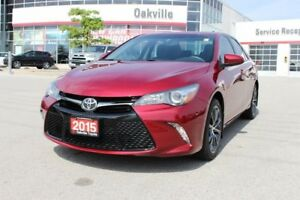 2015 Toyota Camry XSE w/ Leather, Navigation & Moonroof