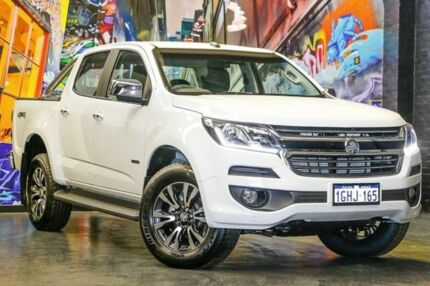 2017 Holden Colorado RG MY17 LTZ Pickup Crew Cab White 6 Speed Manual Utility