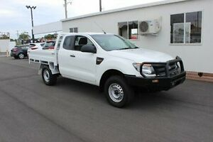 2013 Ford Ranger PX XL Super Cab White 6 Speed Manual Cab Chassis Devonport Devonport Area Preview