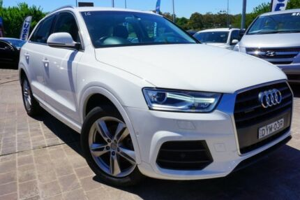 2015 Audi Q3 8U MY15 TFSI S tronic quattro Sport White 7 Speed Sports Automatic Dual Clutch Wagon Pearce Woden Valley Preview