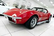 1968 Chevrolet Corvette Stingray Red 4 Speed Manual Coupe Carss Park Kogarah Area Preview