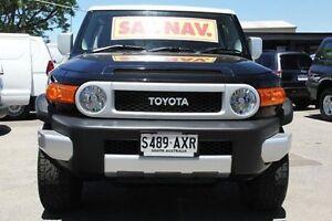 2012 Toyota FJ Cruiser GSJ15R Black 5 Speed Automatic Wagon Hillcrest Port Adelaide Area Preview