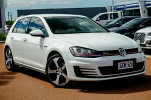 2016 Volkswagen Golf VII MY17 GTI DSG Pure White 6 Speed Sports Automatic Dual Clutch Hatchback Osborne Park Stirling Area Preview