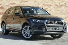 2015 Audi Q7 4M MY16 TDI Tiptronic Quattro Black 8 Speed Sports Automatic Wagon North Melbourne Melbourne City Preview