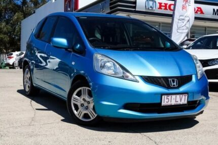 2009 Honda Jazz GE MY09 VTi Blue 5 Speed Automatic Hatchback