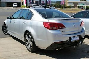 2015 Holden Commodore VF MY15 SV6 Silver 6 Speed Sports Automatic Sedan Cheltenham Kingston Area Preview