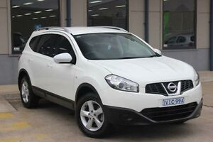 2011 Nissan Dualis J10 Series II +2 ST (4x2) White 6 Speed CVT Auto Sequential Wagon Blacktown Blacktown Area Preview