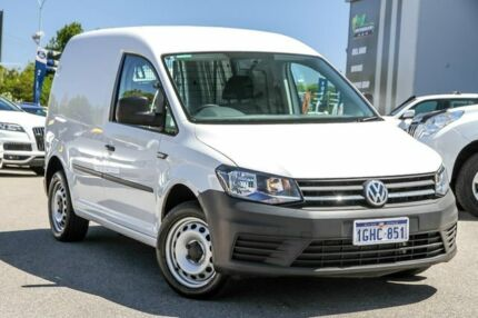 2017 Volkswagen Caddy 2KN MY17.5 TSI220 SWB DSG White 7 Speed Sports Automatic Dual Clutch Van Myaree Melville Area Preview